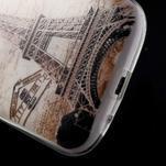 Ultratenký gelový obal na mobil Samsung Galaxy S3 - Eiffelova věž - 5/7
