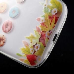 Ultratenký gélový obal pre mobil Samsung Galaxy S3 - donuts - 5