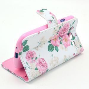 Pictu puzdro pre mobil Samsung Galaxy S3 - kvetinová koláž - 5