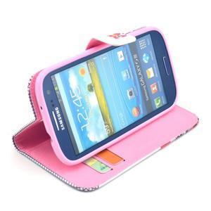 Pictu pouzdro na mobil Samsung Galaxy S3 - sova - 5