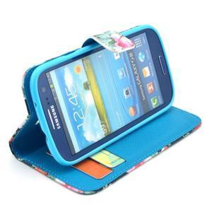 Pictu puzdro pre mobil Samsung Galaxy S3 - kvety - 5