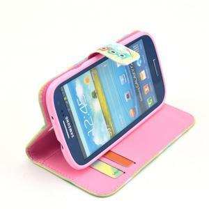 Pictu puzdro pre mobil Samsung Galaxy S3 - sovičky - 5