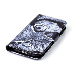 Emotive peňaženkové puzdro pre Samsung Galaxy S3 - sova - 5