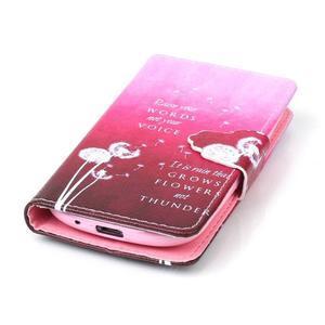 Emotive puzdro pre mobil Samsung Galaxy S3 mini - púpavy - 5