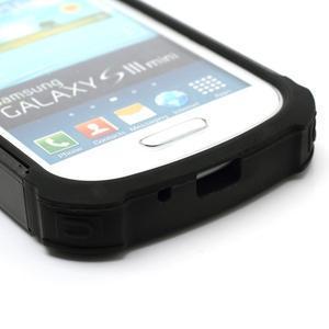 Outdoor odolný obal pre mobil Samsung Galaxy S3 mini - čierný - 5