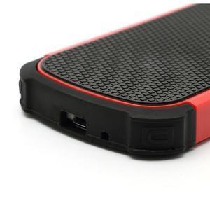 Outdoor odolný obal pre mobil Samsung Galaxy S3 mini - červený - 5