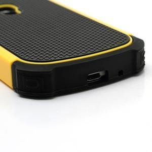 Outdoor odolný obal pre mobil Samsung Galaxy S3 mini - žltý - 5