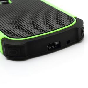 Outdoor odolný obal pre mobil Samsung Galaxy S3 mini - zelený - 5