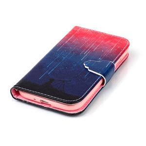 Emotive knížkové pouzdro na Samsung Galaxy S4 - meteory - 5
