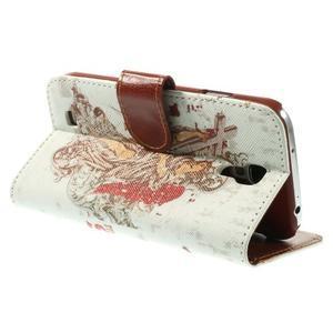 Elegant peňaženkové puzdro pre Samsung Galaxy S4 - mortal - 5
