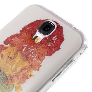 Ultratenký slim gélový obal pre Samsung Galaxy S4 - zmrzlina - 5