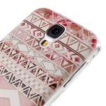 Ultratenký slim gélový obal pre Samsung Galaxy S4 - geo tvary - 5/6