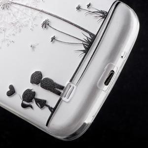 Slim gelový obal na mobil Samsung Galaxy S4 - láska - 5