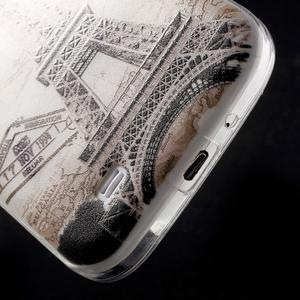 Slim gélový obal pre mobil Samsung Galaxy S4 - Eiffelova veža - 5