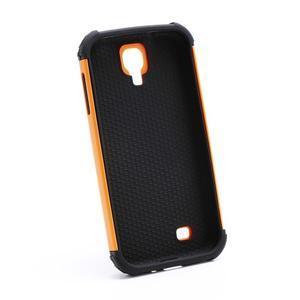 Outdoor odolný silikonový obal na Samsung Galaxy S4 - oranžový - 5