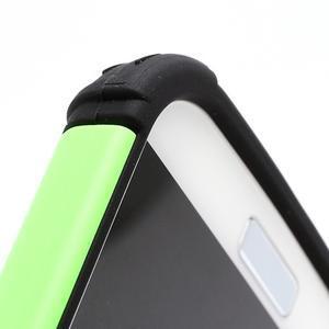 Outdoor odolný silikonový obal pre Samsung Galaxy S4 - zelený - 5