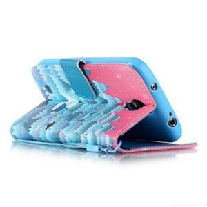 Knížkové koženkové pouzdro na Samsung Galaxy S4 - snowman - 5