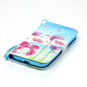 Knížkové koženkové pouzdro na Samsung Galaxy S4 - láska - 5