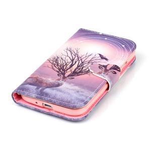 Emotive peňaženkové puzdro pre Samsung Galaxy S4 mini - mystický jelen - 5