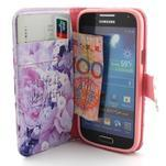 Diaryleather puzdro pre mobil Samsung Galaxy S4 mini - beatiful - 5/6