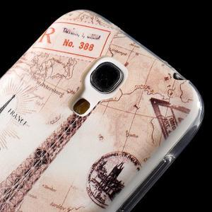 Gélový obal pre mobil Samsung Galaxy S4 mini - Eiffelova veža - 5
