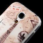 Gélový obal pre mobil Samsung Galaxy S4 mini - Eiffelova veža - 5/6