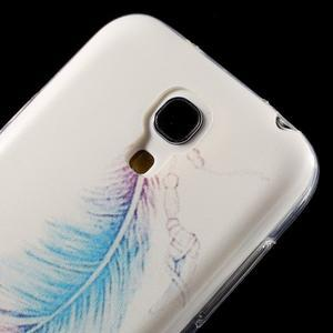 Gélový obal pre mobil Samsung Galaxy S4 mini - pierko - 5