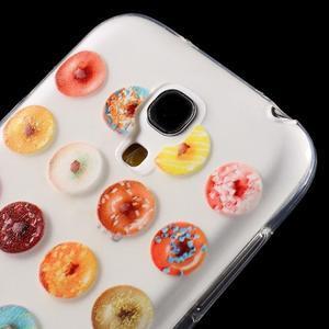 Gélový obal pre mobil Samsung Galaxy S4 mini - donuts - 5
