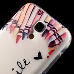 Gélový obal pre mobil Samsung Galaxy S4 mini - život je krásný - 5/6