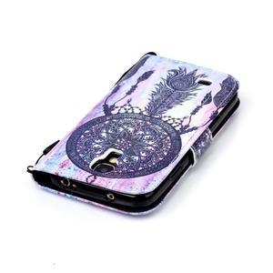 Diary peňaženkové puzdro pre mobil Samsung Galaxy S4 mini - dream - 5