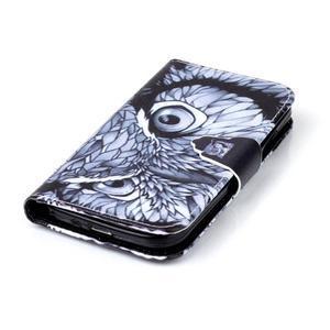 Emotive peněženkové pouzdro na Samsung Galaxy S4 mini - sova - 5