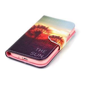 Emotive peňaženkové puzdro pre Samsung Galaxy S4 mini - východ slnka - 5