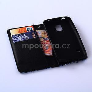 Puzdro pre mobil Samsung Galaxy S5 - žirafí mafie - 5