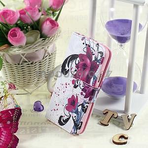 Ochranné puzdro pre mobil Samsung Galaxy S5 - kvety - 5