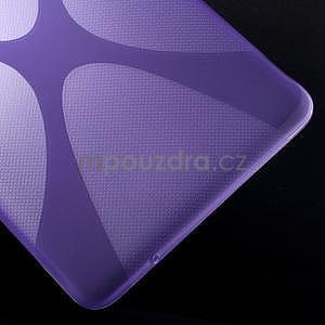 X-line gélové puzdro na tablet Samsung Galaxy Tab E 9.6 - fialové - 5