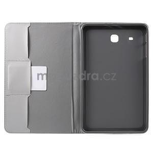 Ochranné koženkové puzdro na Samsung Galaxy Tab E 9.6 - Eiffelova veža - 5