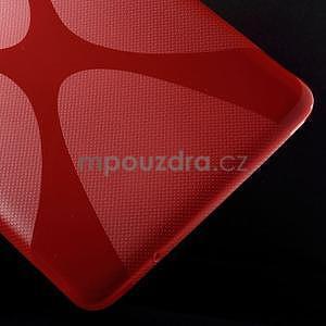 X-line gélové puzdro pre tablet Samsung Galaxy Tab E 9.6 - červené - 5
