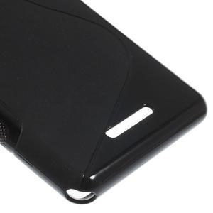 S-line gélový obal pre Sony Xperia E3 - čierny - 5