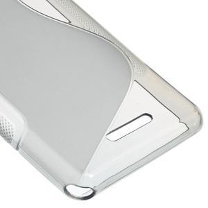 S-line gélový obal pre Sony Xperia E3 - sivý - 5