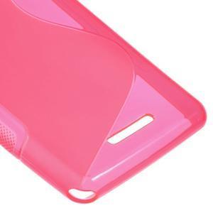 S-line gélový obal pre Sony Xperia E3 - rose - 5