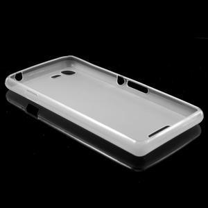 Matný gelový obal na mobil Sony Xperia E3 - transparentní - 5