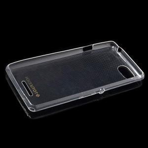 Ultratenký obal pre mobil Sony Xperia E3 - transparentné - 5
