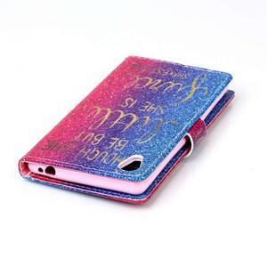 Emotive puzdro pre mobil Sony Xperia M4 Aqua - citát I - 5