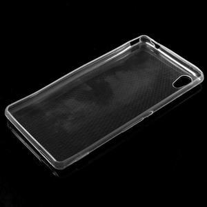 Ultratenký slim gelový obal na mobil Sony Xperia M4 Aqua - transparentní - 5