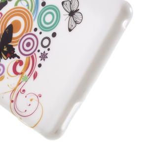Emotive gélový obal pre Sony Xperia M4 Aqua - motýľe - 5