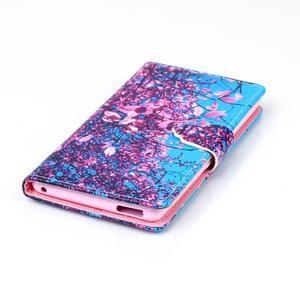 Emotive pouzdro na mobil Sony Xperia M4 Aqua - kvetoucí strom - 5