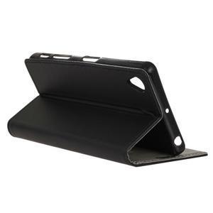 Walle Peňaženkové puzdro pre Sony Xperia X - čierne - 5