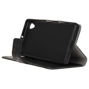 Cartoo Peňaženkové puzdro pre Sony Xperia X - čierne - 5