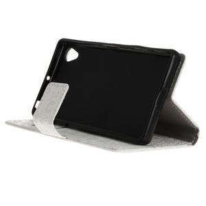 Cartoo peněženkové pouzdro na Sony Xperia X - bílé - 5