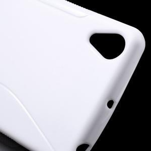 S-line gélový obal pre mobil Sony Xperia X Performance - biely - 5